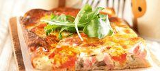 Lindan illanistujaispiirakka, pellillinen | Suolaiset leivonnaiset | Reseptit – K-Ruoka Hawaiian Pizza, Lasagna, Quiche, Nom Nom, Sandwiches, Food And Drink, Menu, Tasty, Breakfast