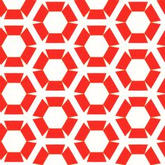 Muller Red fabric by stoflab on Spoonflower - custom fabric