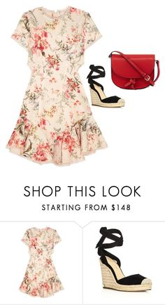 """""""Untitled #1530"""" by yurithisandthat ❤ liked on Polyvore featuring Zimmermann, Ivanka Trump and KC Jagger"""