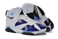 http://www.getadidas.com/air-jordans-7-white-galaxy-custom-for-sale-wdaxb72.html AIR JORDANS 7 WHITE GALAXY CUSTOM FOR SALE WDAXB72 Only $91.00 , Free Shipping!