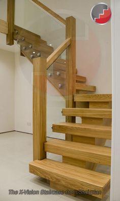oak staircase that makes a statement