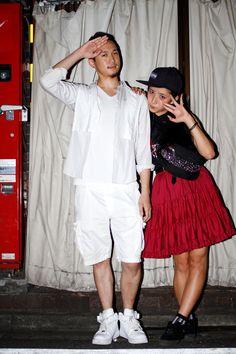 【STREET SNAP】KURUMI IS DEAD , TAKERU IS DEAD | fancyHIM | ストリートスナップ | 新宿(東京) |