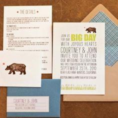 25 Inspiring Wedding Invitations 25 Inspiring Wedding Invitations- Rustic Style Invitation – The Knot