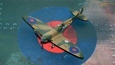 Supermarine Spitfire Mk.1a, P9953, ZP-A, No. 74 Squadron, Sq.-Ldr. D.F. Sailor Malan, RAF Battle of Britain, summer 1940 Science Fiction, Supermarine Spitfire, Battle Of Britain, Ldr, Scale Models, Sailor, Fighter Jets, Aircraft, Creative