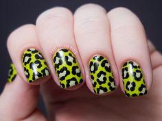 Radioactive Slime Leopard Print