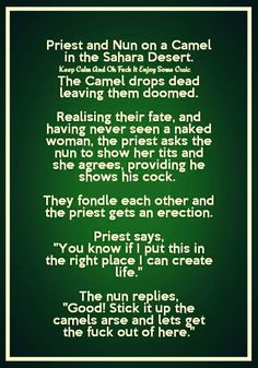 Even the Catholic Nuns are taught the wrong orifice for procreation!