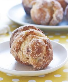 Cinnamon Sugar Popovers  You don't need a fancy popover pan. Just a simple muffin tin will do to bake up these delightfully light and airy breakfast treats. Mixed quickly in a blender, these are the perfect recipe for kids, as there's very little chopping or mixing. Kids will love seeing the popovers rise like magic in the oven.