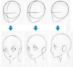 Resultado de imagen para rostros de hombres a lapiz de perfil