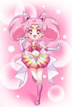 Sailor Chibi Moon on Sailor Moon Eternal style by me. Sailor Chibi Moon, Sailor Moon Meme, Sailor Moon Girls, Sailor Moom, Arte Sailor Moon, Sailor Moon Cosplay, Sailor Moon Crystal, Sailor Scouts, Sailor Moon Personajes