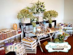 Mesa de Dulces / Candy Bar / Weddings