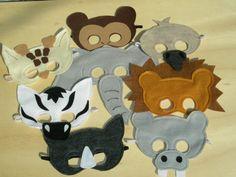 Full Safari Mask Set by Mahalo on Etsy, $72.00