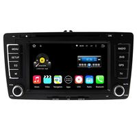 Quad Core 1024*600 Android 5.1.1 Car Radio Player for Skoda Octavia 2013 GPS+DVD+Video+RDS+Bluetooth+WiFi+AUX+Mirror Link