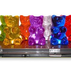 Gummy Bears Lamps - JELLIO: Fun By Design Want these for the kids bedroom!