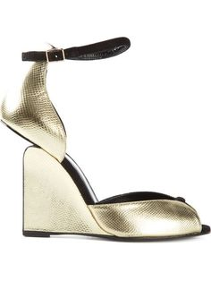 Shop Pierre Hardy 'Arp' wedge sandals in Tassinari from the world's best independent boutiques at farfetch.com. Over 1500 brands from 300 boutiques in one website.