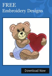 Download FREE Machine Embroidery Designs - Instantly