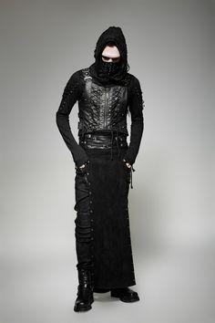 Gothic mantel fur manner