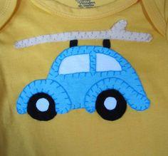 Punch Buggy onesie by SweetPeaskidskrafts on Etsy, $25.00