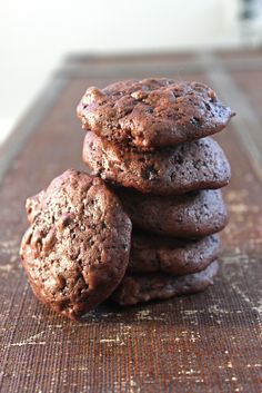 Chocolate Buttermilk Cookies - leftover buttermilk and a little boy who is doing so well potty training. And it's go time!