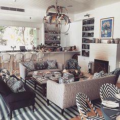 Halcyon House - Black& Spiro interior design viaTRAVEL EMPORIUM by Fairflights @travelemporium Stay / The perfec...Instagram photo   Websta (Webstagram)