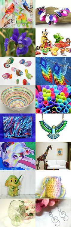 Colorful Life by Michelle on Etsy--Pinned with TreasuryPin.com