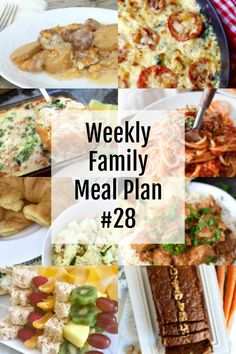 Get your Weekly Family Meal Plans Plenty of variety for this week. Family Meal Planning, Family Meals, Diet Breakfast, Breakfast Recipes, Diet Recipes, Weekly Recipes, Recipies, Diet Drinks, Beverages