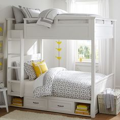 Hampton Bunk Bed // simple space for two