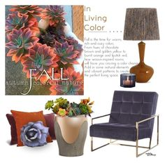 """""Welcome Fall"" Decor"" by eyesondesign ❤ liked on Polyvore featuring interior, interiors, interior design, home, home decor, interior decorating, TastemastersDesignGroup and eyesondesigninteriors"