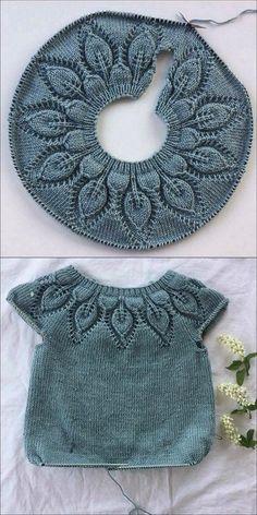 Knitting For Kids, Baby Knitting Patterns, Baby Patterns, Free Knitting, Knitting Ideas, Knitting Projects, Dress Patterns, Crochet Projects, Start Knitting