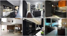 See related links to what you are looking for. Contemporary Kitchen Design, Dining Room Design, Kitchen Dining, Kitchen Ideas, Elegant, Home Decor, Classy, Decoration Home, Room Decor