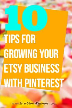 Don't have much time to market your Etsy shop on Pinterest? Here are 10 easy to do marketing tips to promote your Etsy shop on Pinterest that can easily be done in minutes. Via Etsy Pro @juliegrandbois and Pinterest Pro @mcngmarketing Stop by my Shop www.etsy.com/shop/teolddesign