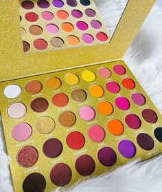 So much pretty. Our Golden Skies palette is in our 30 percent off sale. On site now this week only Makeup Palette, Eyeshadow Palette, Bright Eyeshadow, Amazing Makeup, Festival Makeup, Creative Makeup, Makeup Trends, Best Makeup Products, Makeup Brushes