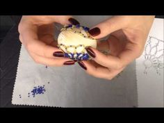 Osterei aus Glasperlen. Einfache Schema. Teil 2/2. Easter egg out of beads. - YouTube