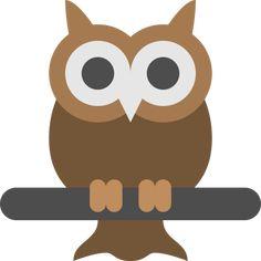 Big, bird, eyes, night, owl, vision, wild icon