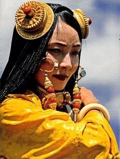 terraeincognitae: Tibetan lady