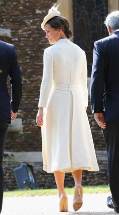 Princess Charlotte Christening pictures - Pippa Middleton   Harper's Bazaar