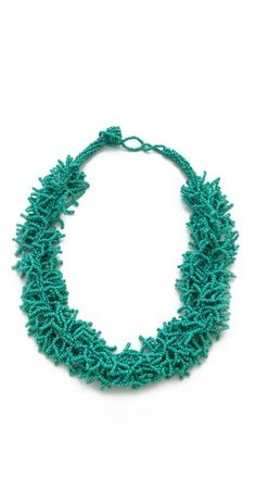 Kenneth Jay Lane Beaded Coral Necklace | SHOPBOP SAVE 25% use Code:INTHEFAMILY14