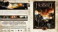 The Hobbit: The Battle of the Five Armies (2014) Blu-ray Custom Cover