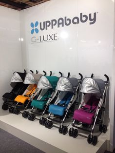 Shh... the brand new UPPAbaby G-LUXE