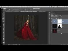 ▶ Brooke Shaden: How to Use Photoshop to Create a Fairy Tale Composite Photograph - YouTube