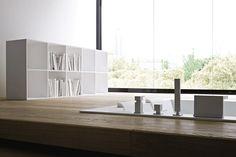 UNICO MAXI RECESSED - Designer Bathtubs from Rexa Design ✓ all information ✓ high-resolution images ✓ CADs ✓ catalogues ✓ contact information. Mini Bathtub, Built In Bathtub, Bathtub Shower, Autocad, Corian, Bathroom Interior Design, Dining Bench, Branding Design, Furniture Design