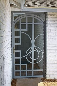 Art Nouveau door. Love it.