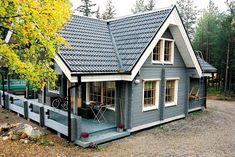 House country small floor plans 52 ideas for 2019 Small Floor Plans, Cottage Floor Plans, Craftsman House Plans, House Floor Plans, Exterior House Colors, Exterior Design, Facade House, House Front, House In The Woods