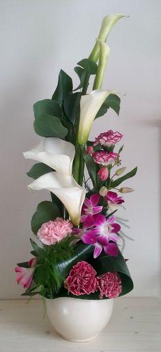 Arum blanc pour mariage rennes deco florale pinterest for Livraison fleurs rennes