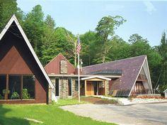 Birch Ridge Inn, in Killington, VT, has very unique architecture