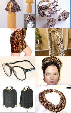 Animal Prints - vintage clothes and jewelry and accessories