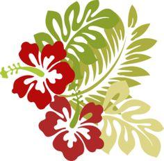 Hawaiian Quilt Patterns, Hawaiian Quilts, Flower Canvas, Flower Art, Colors Drama, Hawaiian Designs, Stencils, Hawaiian Flowers, Fashion Painting