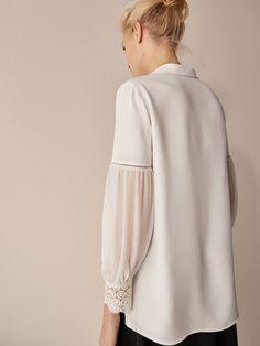 Fluffy Wedding Dress, Sleeves Designs For Dresses, Collar Blouse, Muslim Fashion, Blouse Designs, Designer Dresses, Fashion Outfits, Clothes For Women, Fashion Design