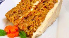 Bizcocho de chocolate y zanahoria para veganos