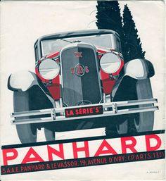 http://www.panhard-club.nl/autos/1931_Serie_S.jpg / Un artiste important pour la firme: Alex Kow.