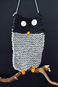 Knitted owl, what about weaving one. Beginner Knitting Projects, Knitting For Kids, Knitting For Beginners, Sewing Projects, Diy For Kids, Crafts For Kids, Arts And Crafts, Knitted Owl, Knit Crochet